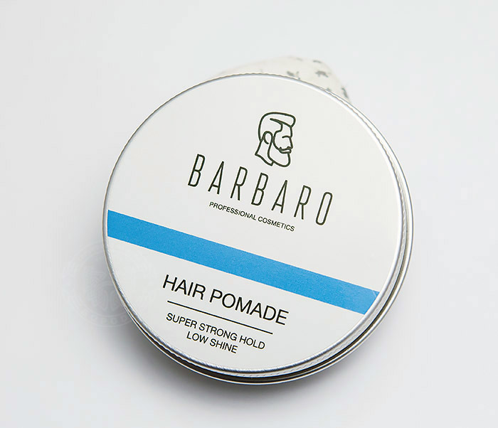 RAZ1004 Синяя помада для укладки волос «Barbaro», сильная фиксация (60 гр) фото 02