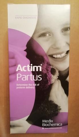 Экспресс-тест для диагностики преждевременных родов Актим Партус Тест Actim Partus Test № 10 /Oy Medix Biochemica AB, Финляндия/