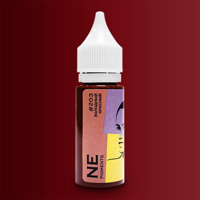 Пигмент NE Pigments #203 Холодный красный