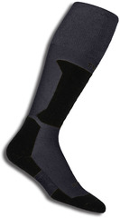Термоноски горнолыжные Thorlo XSKI Charcoal/Black