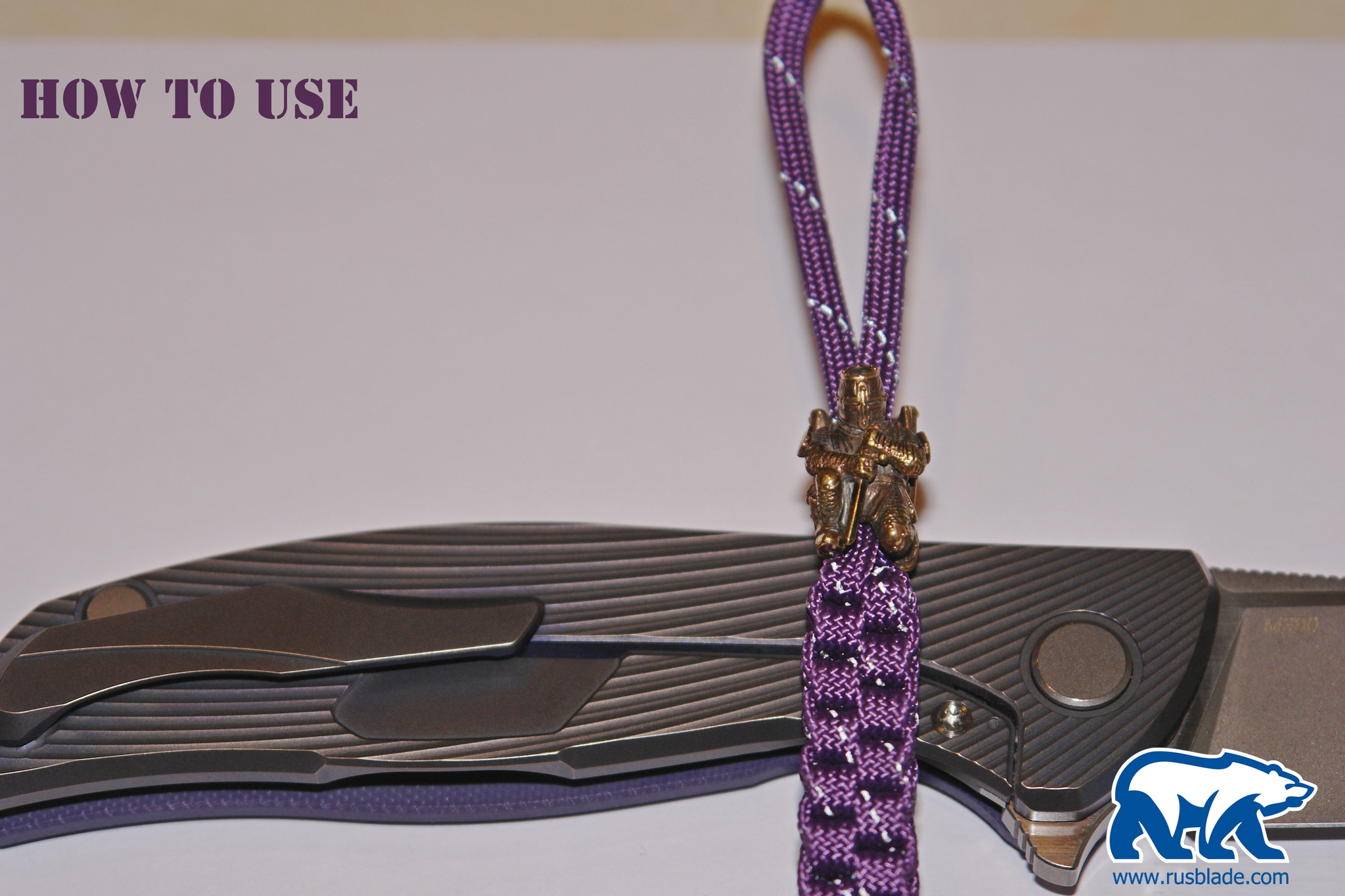 "Custom Sword Knot ""Terminator"" Limited Edition - фотография"