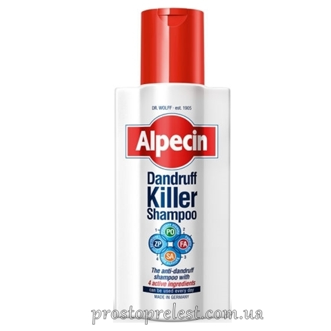 Alpecin Dandruff Killer Shampoo - Шампунь от перхоти
