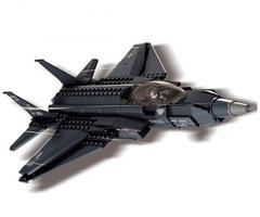 Конструктор серия Армия Высотный истребитель перехватчик