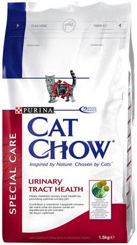 Cat Chow Сухой корм для кошек для профилактики мочекаменной болезни, 15 кг