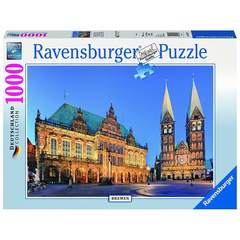 Puzzle -Bremen Canaletto Blick    1000p