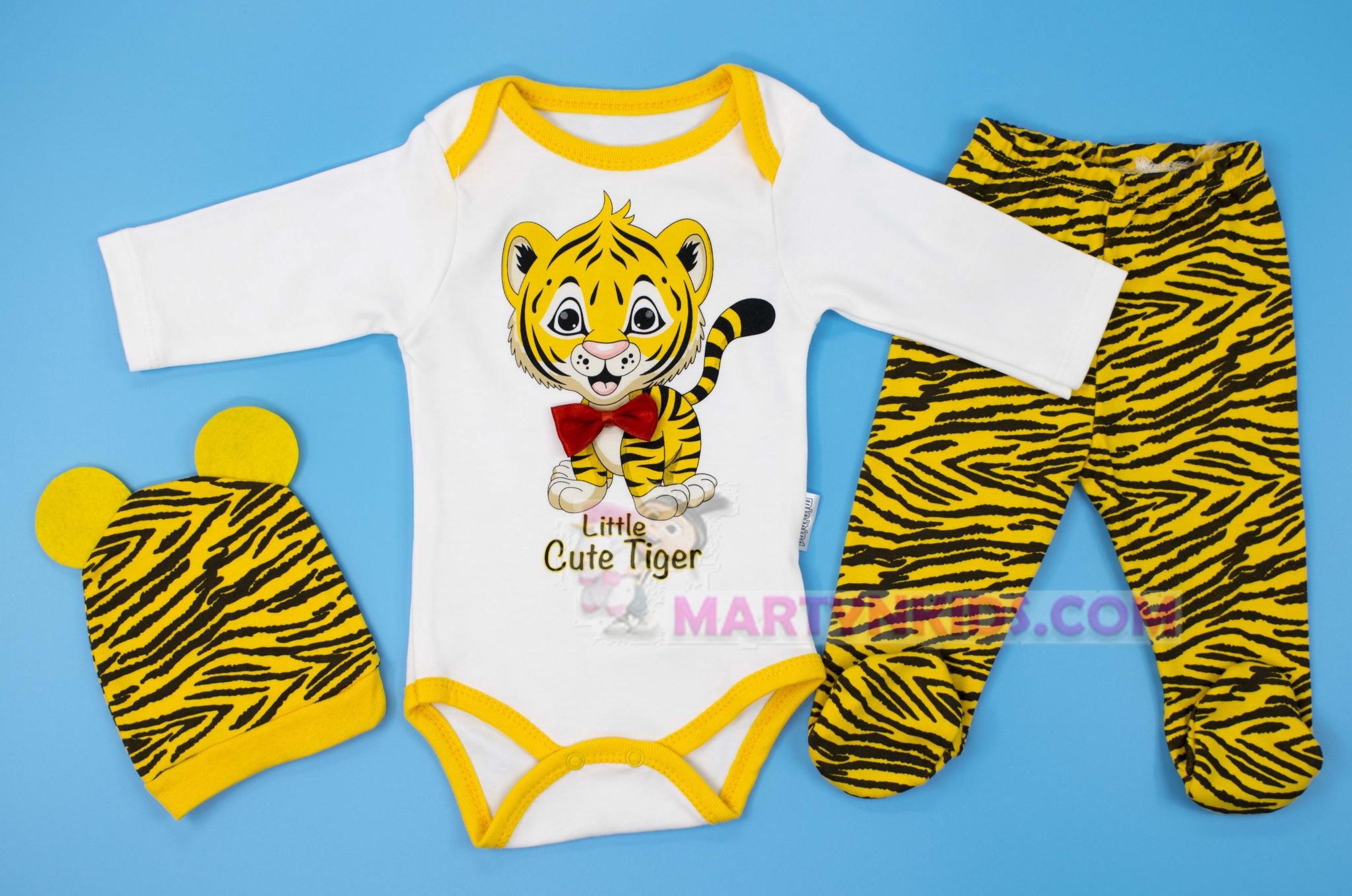 3099  боди тройка Тигра