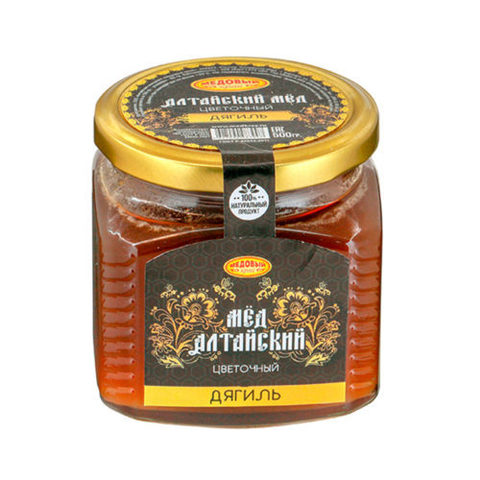 Дягилевый алтайский мёд 500 г