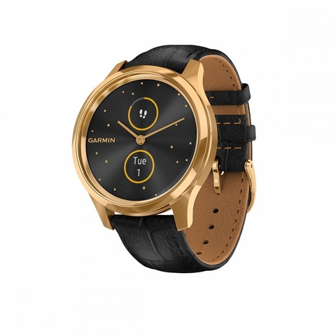 Garmin Vivomove Luxe, pure gold-black