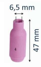 Сопло керамическое #4 d=6,5мм (для горелок моделей 17-18-26)