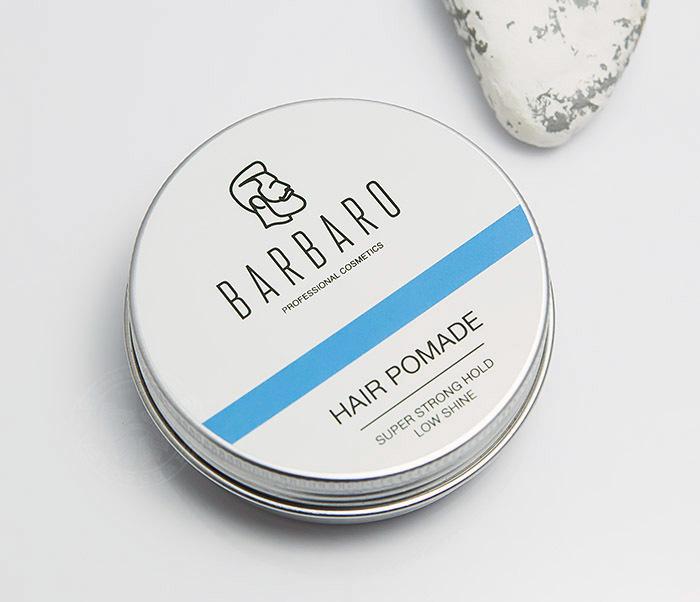 RAZ1004 Синяя помада для укладки волос «Barbaro», сильная фиксация (60 гр) фото 03
