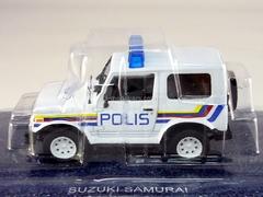 Suzuki Samurai Police Malaysia 1:43 DeAgostini World's Police Car #33