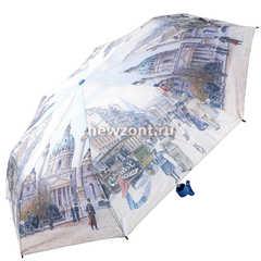 Складной женский зонт механика Магик Рейн город Дублин