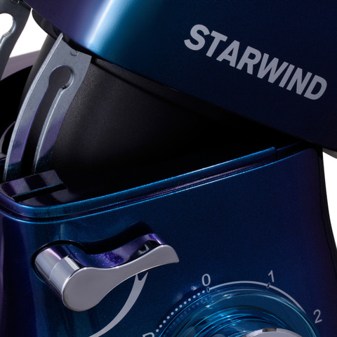 Миксер стационарный Starwind, 1600 Вт, фиолетовый