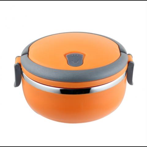 Термо ланч-бокс 1 секция Оранжевый