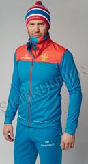 Элитная утеплённая лыжная куртка Nordski Pro Rus мужская