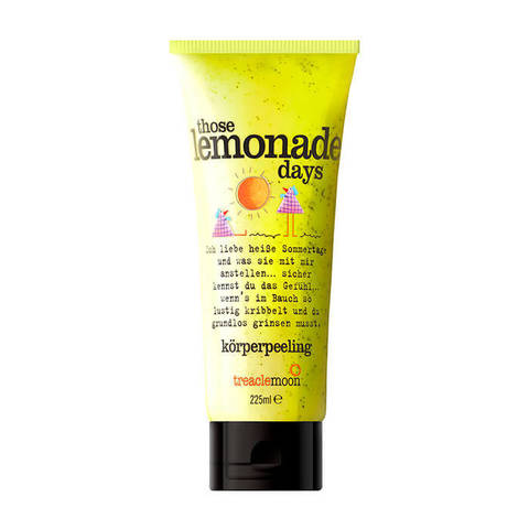 Treaclemoon Скраб для тела Домашний лимонад / Those lemonade days Body scrub, 225 мл