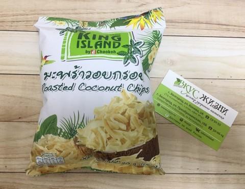 Кокосовые чипсы KING ISLAND, 40г