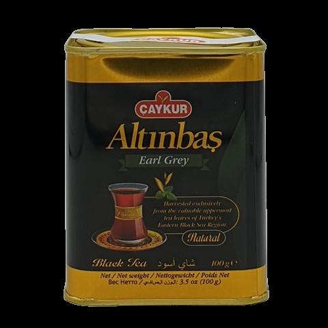 Турецкий чёрный чай с бергамотом Altinbas CAYKUR, 100 гр