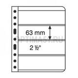 Лист для банкнот VARIO,Варио 4 ячейки, прозрачный
