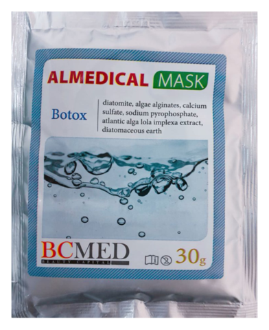*Альгинатная маска (BCMED/Ботокс/30гр)