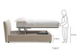 Кровать AEDE SHARM 3, Италия