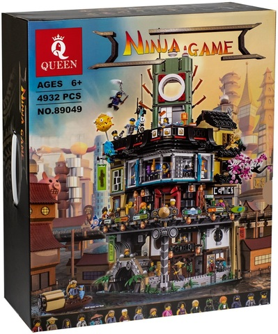 Конструктор Queen Ninja Game 89049 / 691053 (06066) Ниндзяго Сити