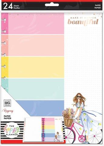 Дополнительный блок  для ежедневника Happy Planner BIG Filler Paper - Rongrong - Slay Today - 24 л