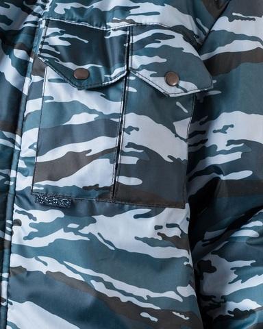Куртка Охранника КМФ серый вихрь