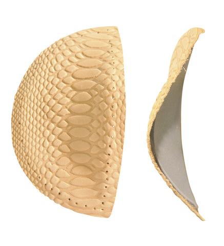 Поддерживающие пелоты под средний отдел стопы из натуральной кожи, 1 пара