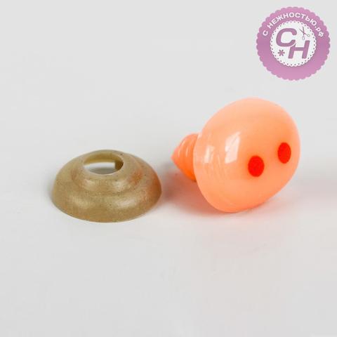 Нос для игрушек винтовой с фиксатором