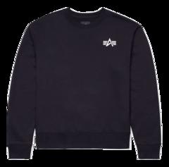 Свитшот Alpha Industries Small Logo Sweatshirt (Черный)