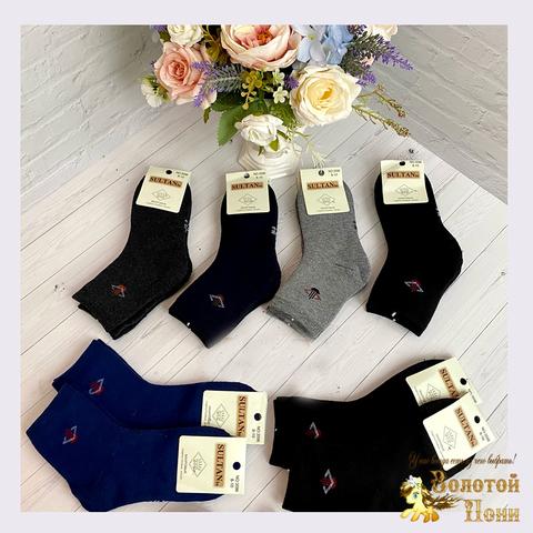 Носки махровые подростковые (8-14) 201118-S3596