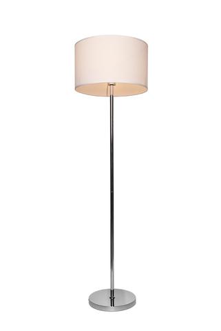 Напольный светильник Escada 10162/L E27*60W Chrome/White