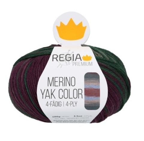 Regia Premium Merino Yak Color 8506 купить