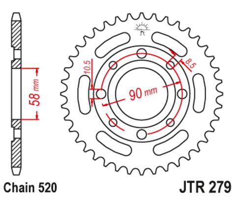 JTR279