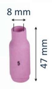Сопло керамическое #5 d=8мм (для горелок моделей 17-18-26)