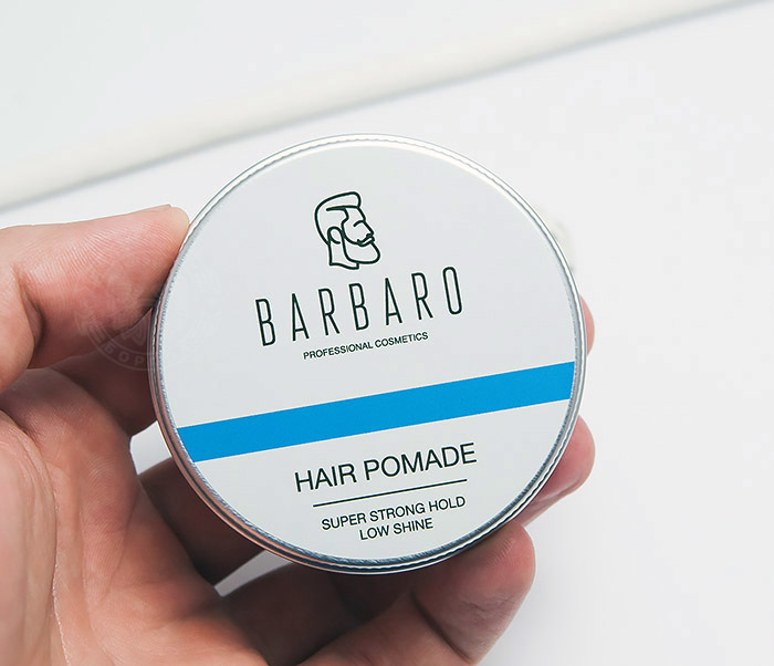 RAZ1004 Синяя помада для укладки волос «Barbaro», сильная фиксация (60 гр) фото 04