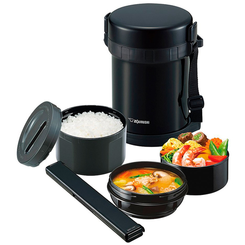 Термос для еды Zojirushi SL-GH (1,8 литра), черный