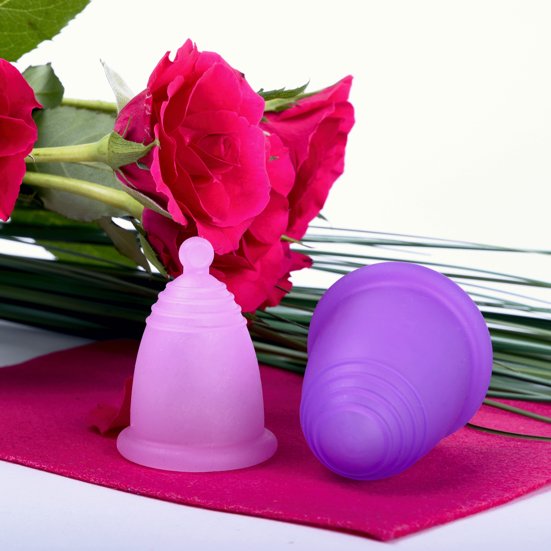 Менструальная чаша MeLuna Soft (L) - розовая
