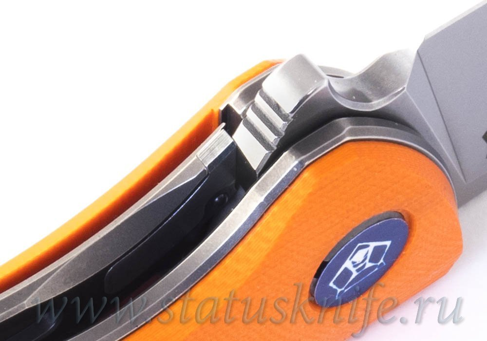 Нож Широгоров F3 S90V Orange - фотография