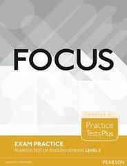 Focus Exam Practice for PTE General Level 2 B1