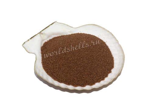 Цветной песок коричневый 300 гр.