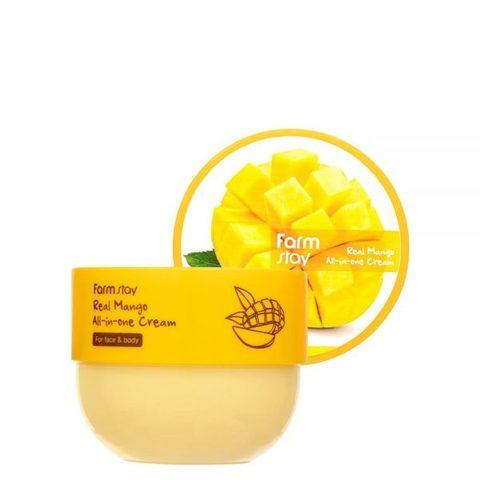 FarmStay Real Mango All-In-One Cream многофункциональный крем с экстрактом манго