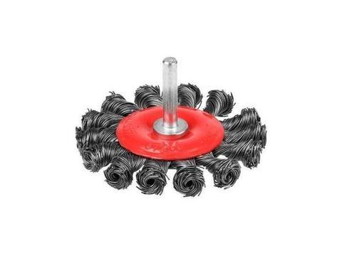 Щетка для УШМ VIRA 22мм крученая метал.пров.100мм 575100