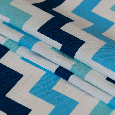 Ткань хлопок Мейдж синий