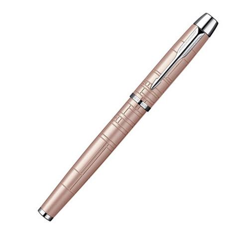 Parker IM Premium - Metallic Pink CT, ручка-роллер, F, BL