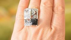 Чероки (кольцо + серьги из серебра)