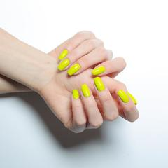 Гель-лак MIX 089 Neon Yellow, 6 мл