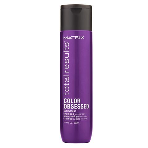 Matrix Total Results Color Obsessed: Шампунь для защиты цвета окрашенных волос с антиоксидантами (Color Obsessed Shampoo), 300мл/1л