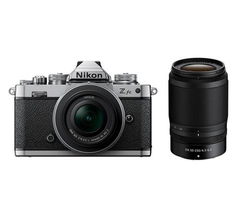Фотоаппарат Nikon Z fc Kit 16-50mm VR+ 50-250 VR